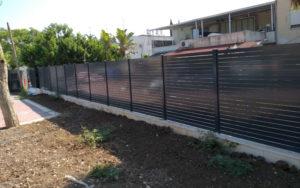 גדר אלומיניום בקריית ביאליק