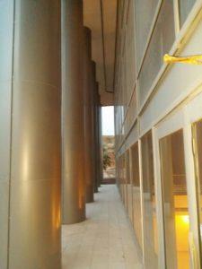 חיפוי קירות חוץ | חיפוי מלון אורכידיה בפאנל אלומיניום