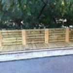 גדרות לגינה לצורך תיחום