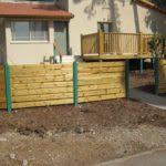 גדרות לגינה עם עמודי ברזל