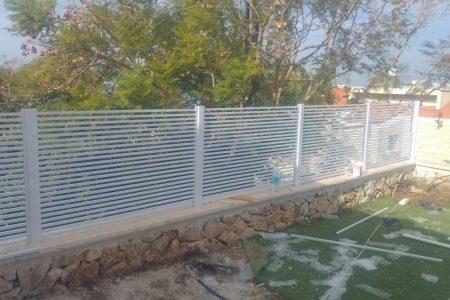 גדרות אלומיניום בחיפה