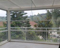 פרגולה אלומיניום למרפסת